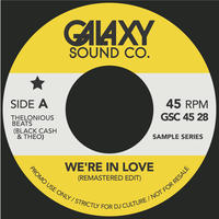 """THELONIOUS BEATS / WE'RE IN LOVE (7"""")"""