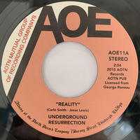 "Underground Resurrection ‎/ Reality (7"")"