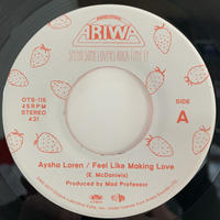 "Aysha Loren / Feel Like Making Love (7"")"
