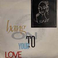 "Sade / Hang On To Your Love (7"")"