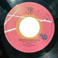 """JOHN REED & THE AUTOMATICS / ON THE RUN (7"""")"""