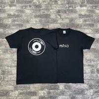 RECORD SHOP MIZO オリジナルロゴTシャツ BLACK (L)