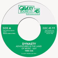 """DYNASTY / ADVENTURES IN LAND OF MUSIC (7"""")"""