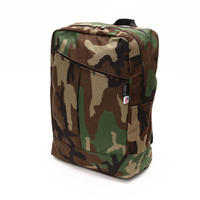 DIAGONAL ZIPPER BACKPACK1000D(Lサイズ) WOODLAND CAMO
