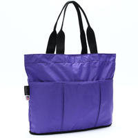 OVAL SHAPED TOTE BAG(Lサイズ) PURPLE