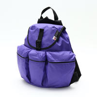 3POCKET BACK PACK(Mサイズ) PURPLE