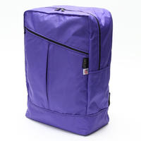 DIAGONAL ZIPPER BACKPACK(Lサイズ) PURPLE