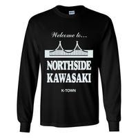 """""""NORTHSIDE KAWASAKI"""" L/S TEE BLACK"""
