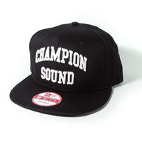 """CHAMPION SOUND"" NEW ERA SNAPBACK CAP BLACK"