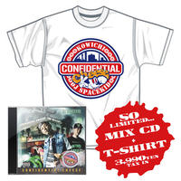【特典付き】KOWICHI & DJ SPACEKID / CONFIDENTIAL CHEESE MIX CD+T-SHIRT SET