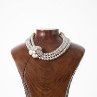 【Philippe Ferrandis】camellia 3連ネックレス