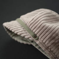 コーデュロイのふわふわ帽子|58 レディース