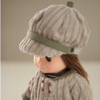 ドール コーデュロイ帽子