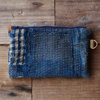 SASHIKO(BORO) POUCH(JAPAN×USA)
