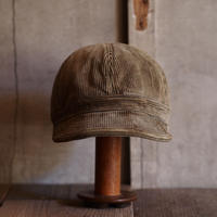 FRENCH VINTAGE CORD CAP ~type mechanic~59 ②