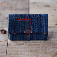 SASHIKO(BORO) CARD CASE(JAPAN×USA)