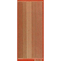 640-0009 エレガントカットシールGL オレンジ  /Go