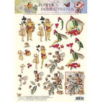 5280-2543 Pt 3D プリント フラワー&フェアリー