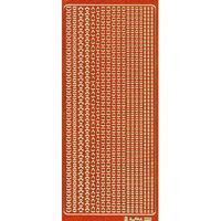 640-0008 エレガントカットシールGL オレンジ  /Go