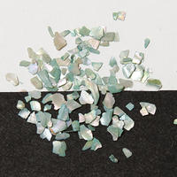 532-6915 らでんフレーク 淡水真珠緑 2g入