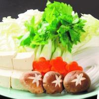 クエ鍋用野菜(画像は3人前)
