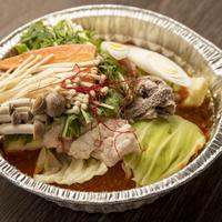 【CAS食品】ピリ辛ホルモン鍋(麺付き)