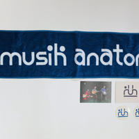 """""""MUSiK Anatomia""""  マフラー・タオル & ポストカード & ステッカー セット"""