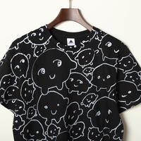グリンピースくんTシャツ(黒)