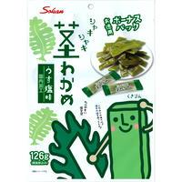 126gボーナスパック茎わかめ うす塩味×3個パック