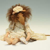 Puppen & Bären / 茶色いネズミ / Lily