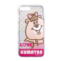 クマタンの彼女 iPhone 7 Plus ケース 【KMTG-134】
