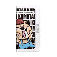 MONOCHRO KUMATAN 【iPhone6/iPhone6S専用手帳型ケース】