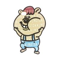 クマタン ダイカットiPhoneケース 8/7/6S/6対応【KMT-336BG】