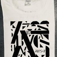 AB'S-7 オリジナルTシャツ 白