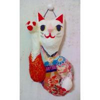 招き猫(右手挙げ)壁掛け No.103