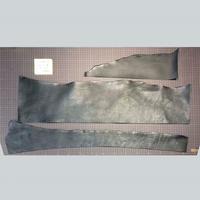 シボ革端切れ 黒 2.5-3.0厚(7109005)
