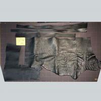 シボ革端切れ 黒 2.5厚(7109012)