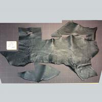 シボ革端切れ 黒 2.5-3.0厚(7109007)
