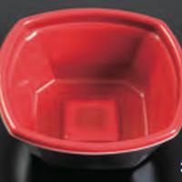 【丼容器】Kランチ−8赤黒(600枚)
