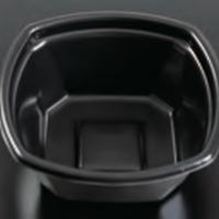 【丼容器】Kランチ−8黒(600枚)