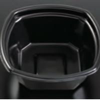 【丼容器】Kランチ−7黒(600枚)