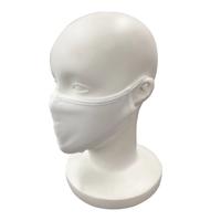送料無料!【コットンマスク】やわらか素材・洗濯可(2枚)