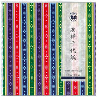 友禅千代紙 150×150mm 5枚入  ひな壇友禅紙4