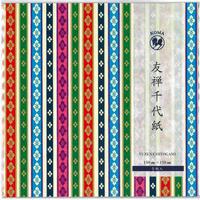友禅千代紙 150×150mm 5枚入  ひな壇友禅紙2