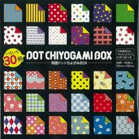 いろいろ30柄 両面ドットちよがみBOX No.23-2187