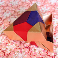 銅箔両面和紙折紙 15㎝ M500−35
