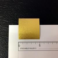 ネット限定販売! 金箔両面和紙 約50mm×50mm 5色込