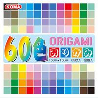 60色おりがみ 15㎝ K200−80