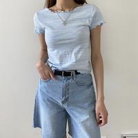 メロウフリル半袖Tシャツ
