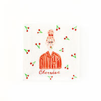 Cherries ミニキャンバス原画 1